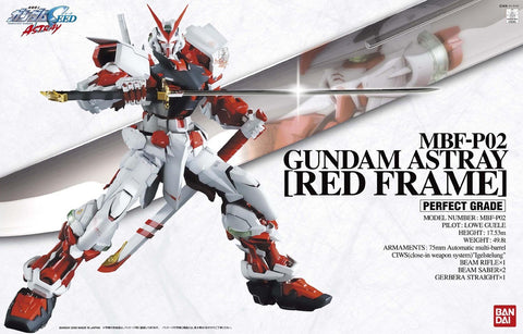 PG Gundam Astray Red Frame [SALE DISCOUNT CODE DOES NOT APPLY]