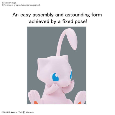 "02 MEW ""Pokemon"", Bandai Spirits Pokemon Model Kit Quick!!"