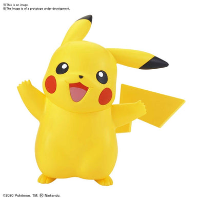 "01 PIKACHU ""Pokemon"", Bandai Spirits Pokémon Model Kit Quick!!"