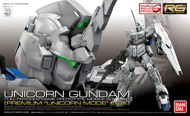 "RG RX-0 Unicorn Gundam [""Premium Unicorn Mode"" box]"