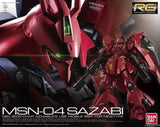 "RG Sazabi ""Char's Counter Attack"""