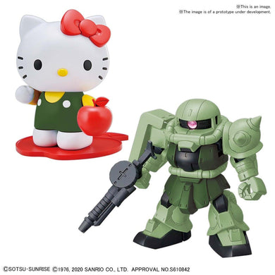 Pre-Order SDCS Hello/Kitty Zaku II [SD Gundam Cross Silhouette]