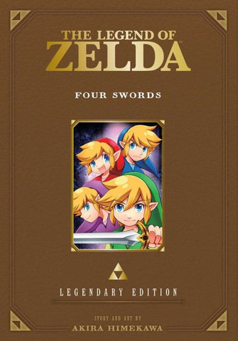 The Legend of Zelda Legendary Edition Volume 5 (Four Swords)