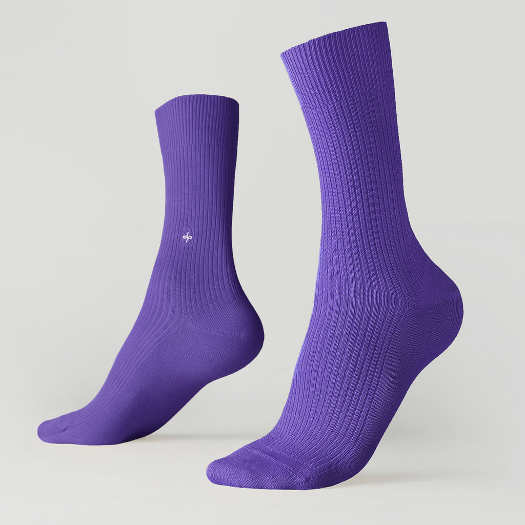 Dueple's Prince Colored Left Sock