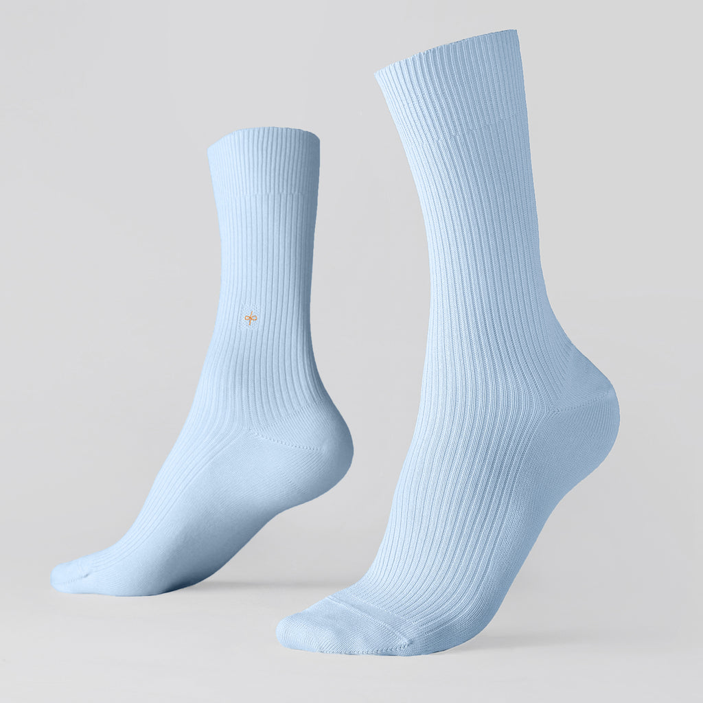 Dueple's Summer breeze Colored Left Sock