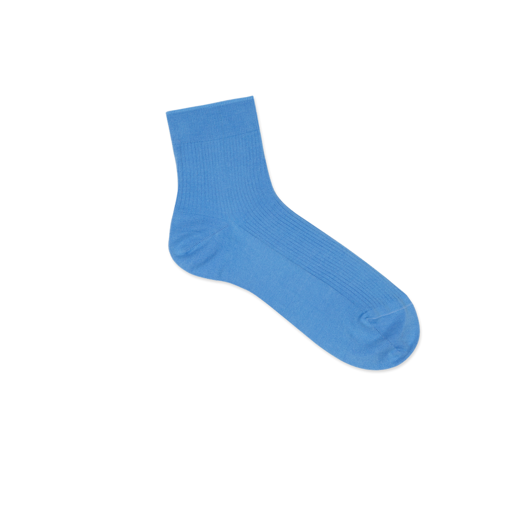 Dueple's Ankle high above Colored Right Sock