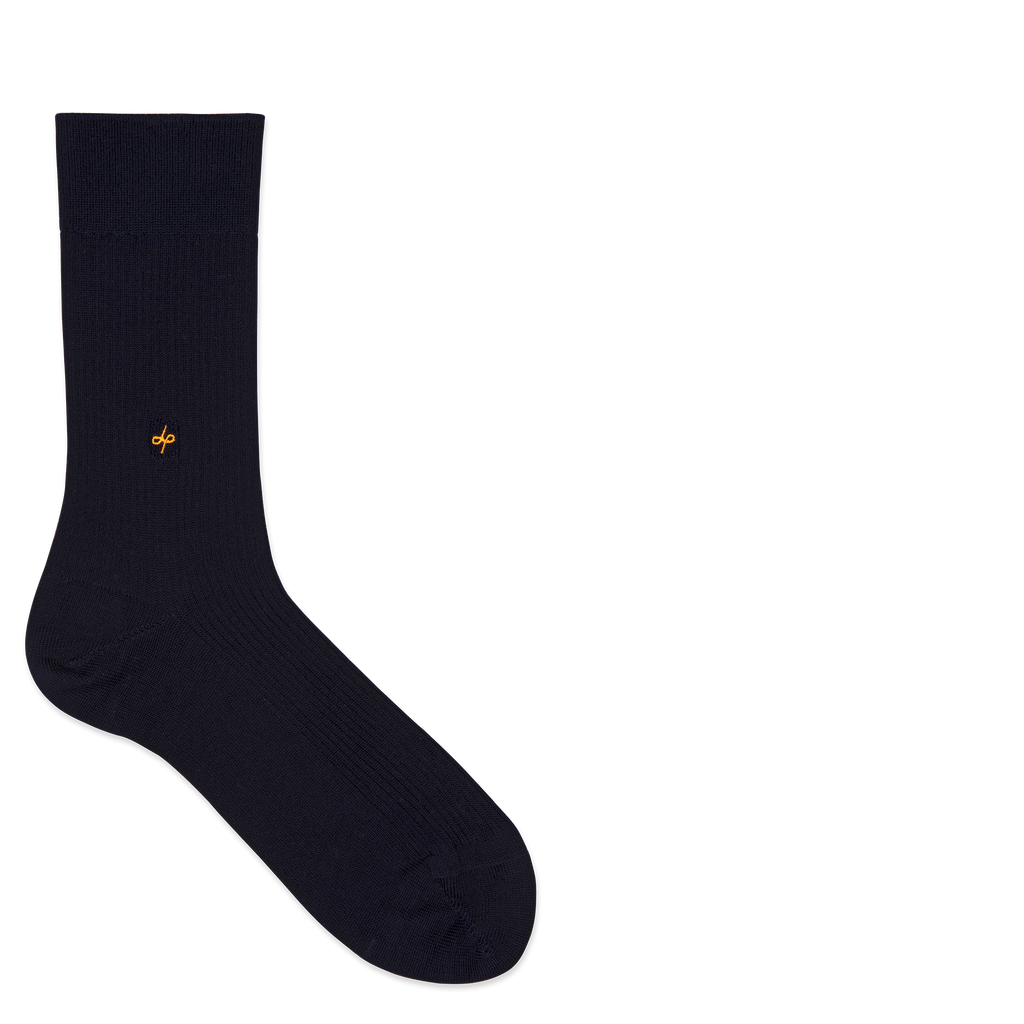 Dueple's Nine to five Colored Left Sock