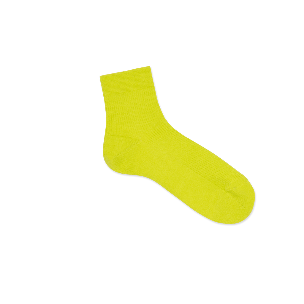 Dueple's Ankle neon pie Colored Right Sock