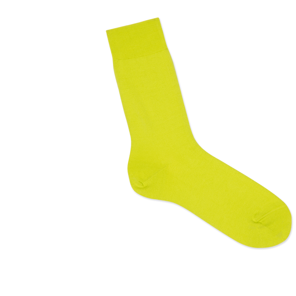 Dueple's Neon pie Colored Right Sock