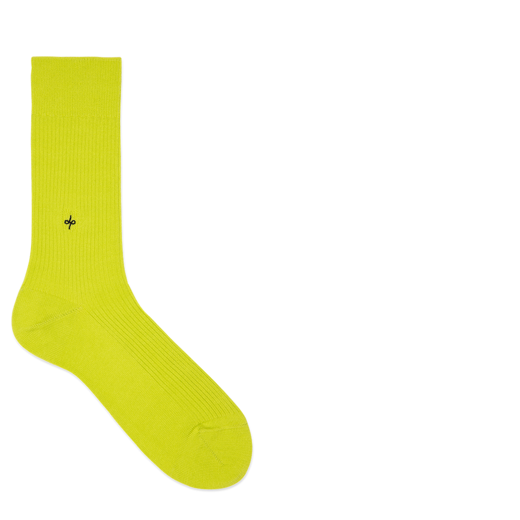 Dueple's Neon pie Colored Left Sock