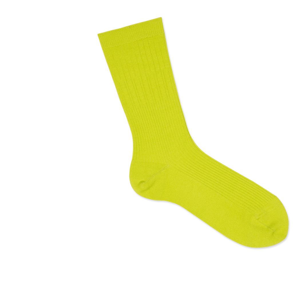 Dueple's Neon pie swiit Colored Right Sock