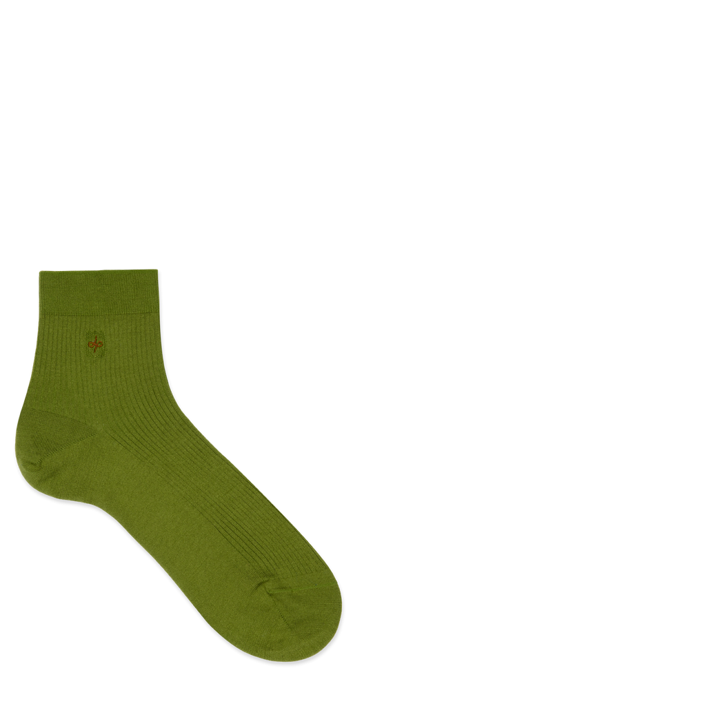 Dueple's Ankle ninja turtle Colored Left Sock