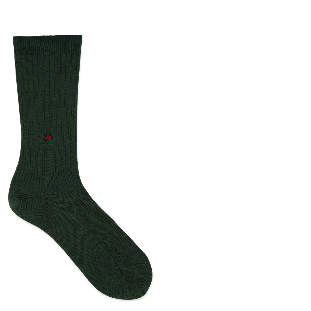 Dueple's Kings court swiit Colored Left Sock