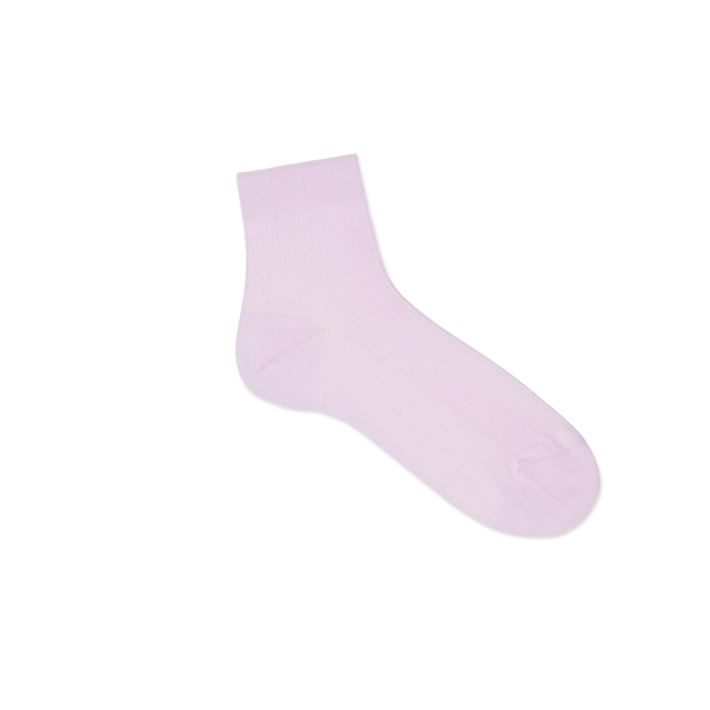 Dueple's Ankle rose milk Colored Right Sock