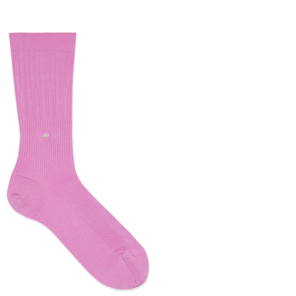 Dueple's Pink panther swiit Colored Left Sock