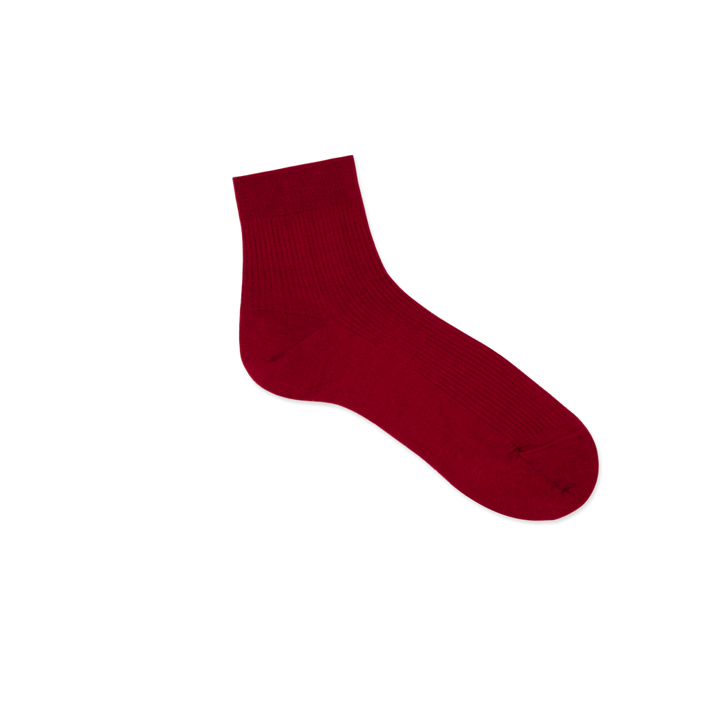 Dueple's Ankle roses Colored Right Sock