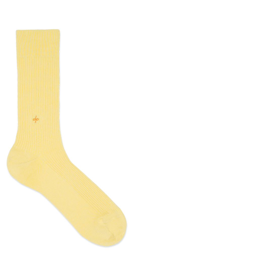 Dueple's Nana banana Colored Left Sock