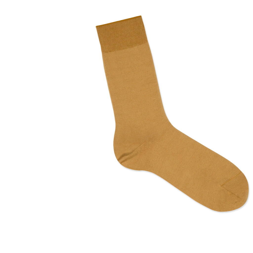 Dueple's Golden Colored Right Sock