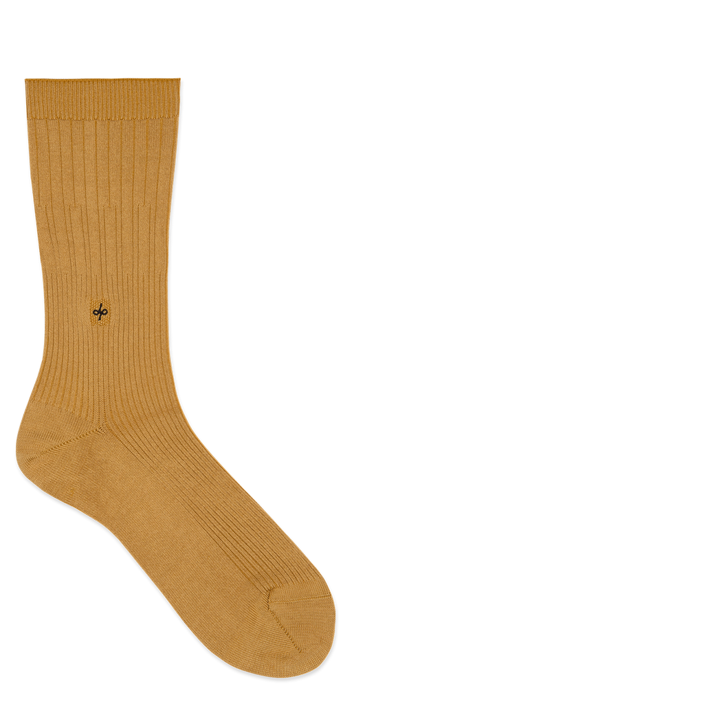 Dueple's Golden swiit Colored Left Sock