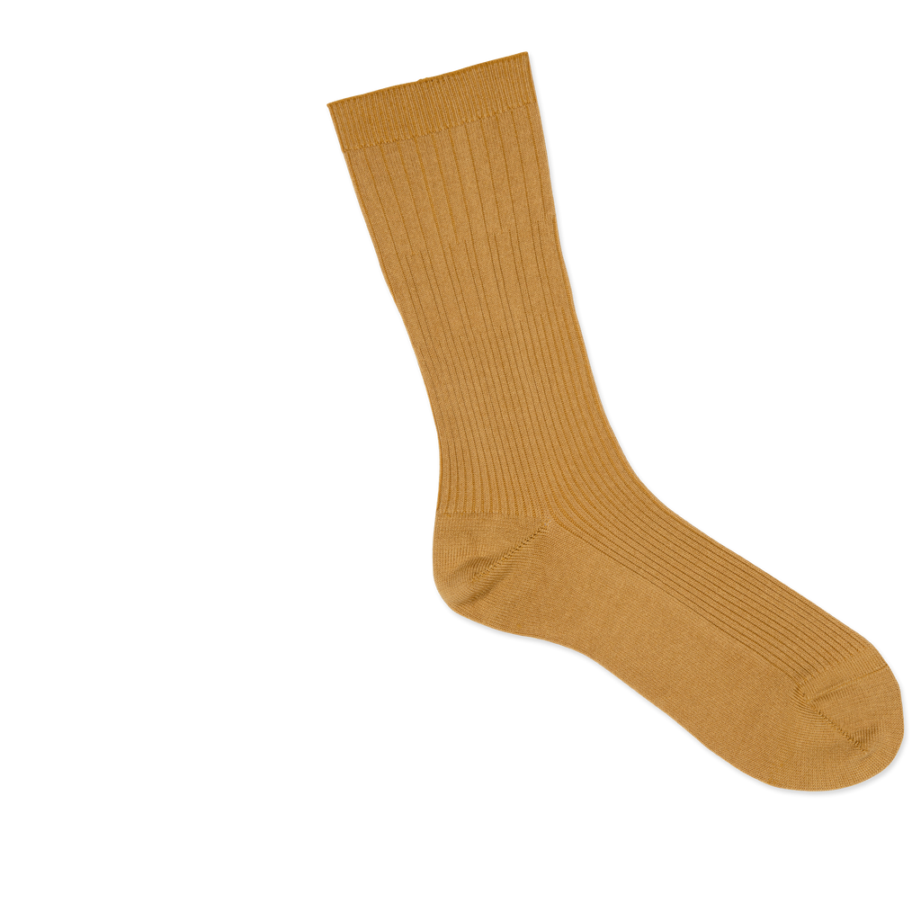 Dueple's Golden swiit Colored Right Sock