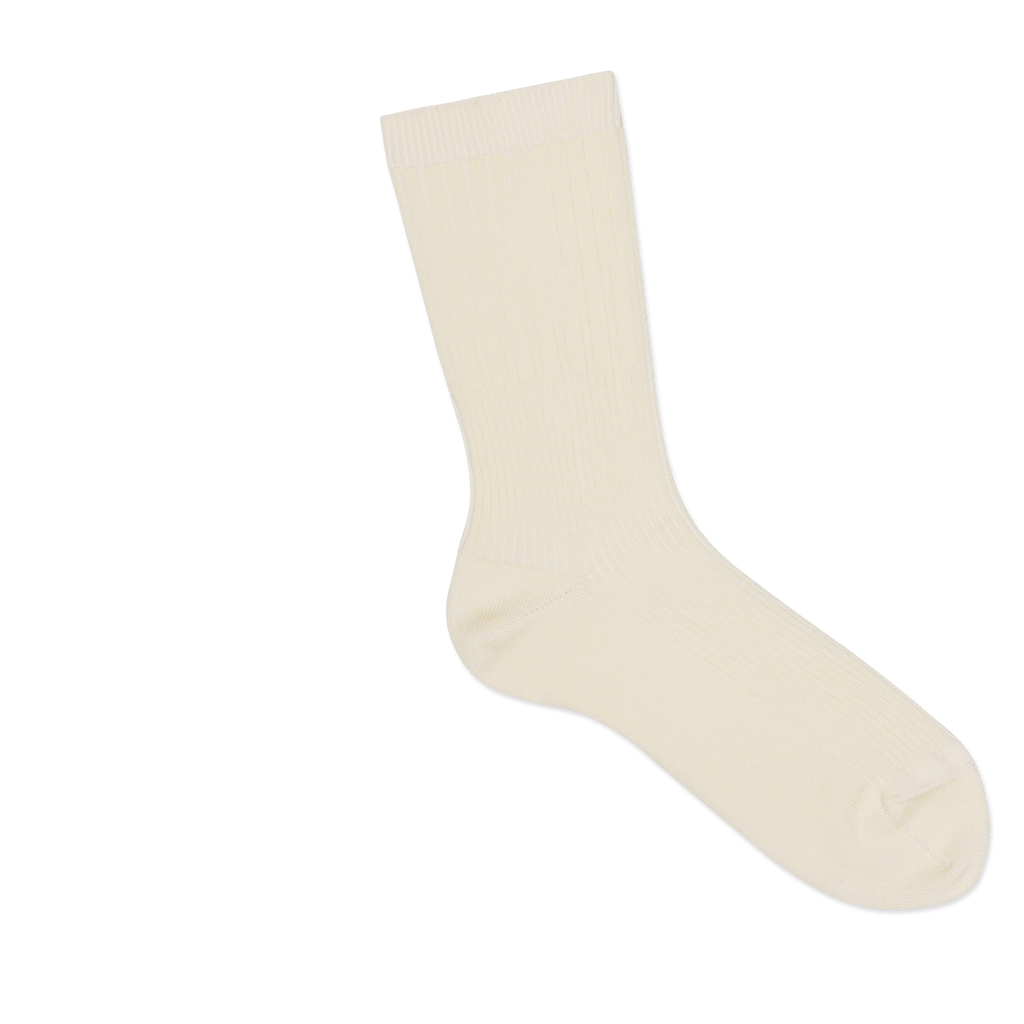 Dueple's Creme swiit Colored Right Sock