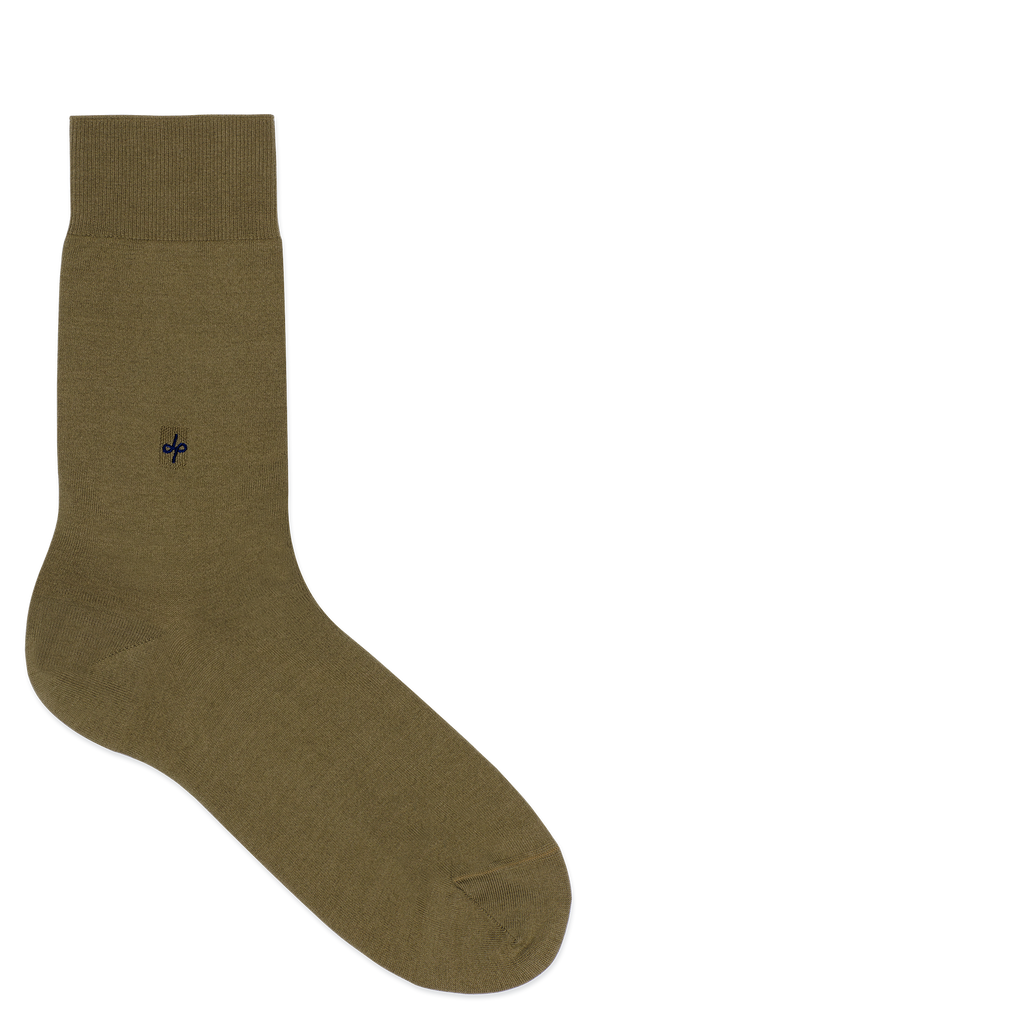 Dueple's Aligator Colored Left Sock