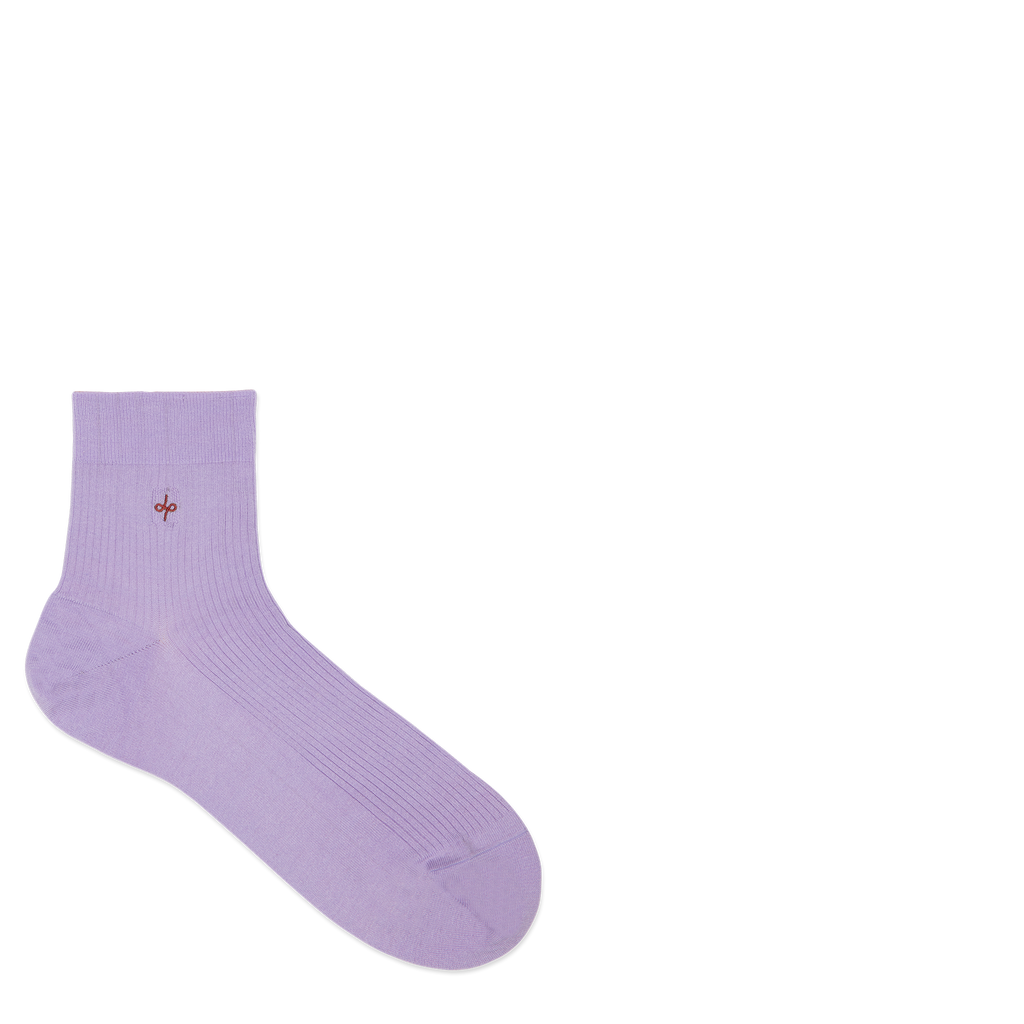 Dueple's Ankle perfume Colored Left Sock