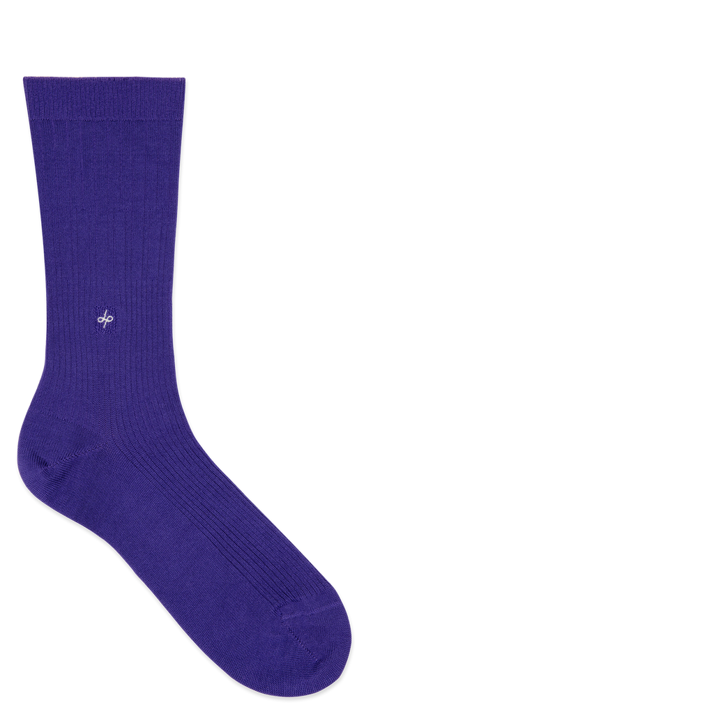 Dueple's Prince swiit Colored Left Sock