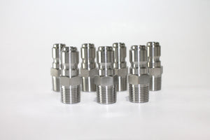 "MPT 1/4"" Stainless Steel Plug"