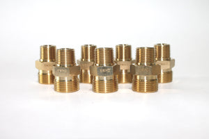 "M22 Male X 3/8"" Male Plug (Twist & Seal)"
