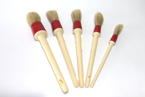 RaceGlaze Detailing Brush Set of 5