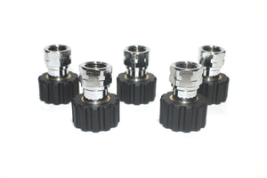"M22 to 3/8"" Female Twist Seal Coupler"