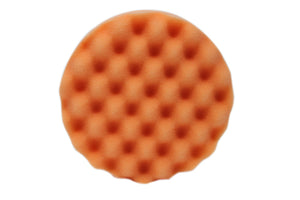 Optimum Waffle Foam Pad: Orange (Firmest Cutting) 5.5""