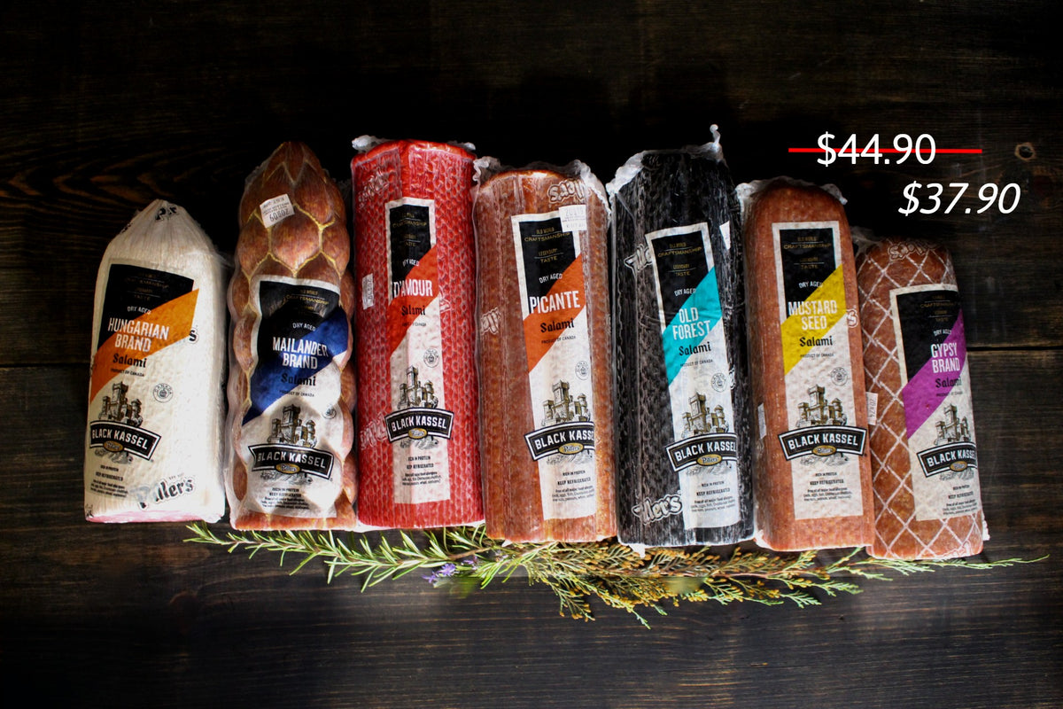 Piller's salami order online - Cured and Cultivated