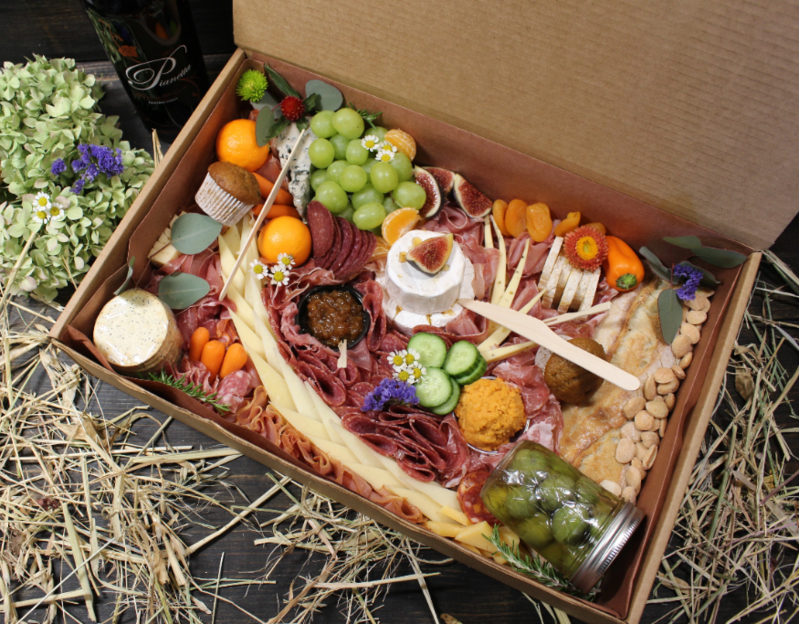 grazing picnic box