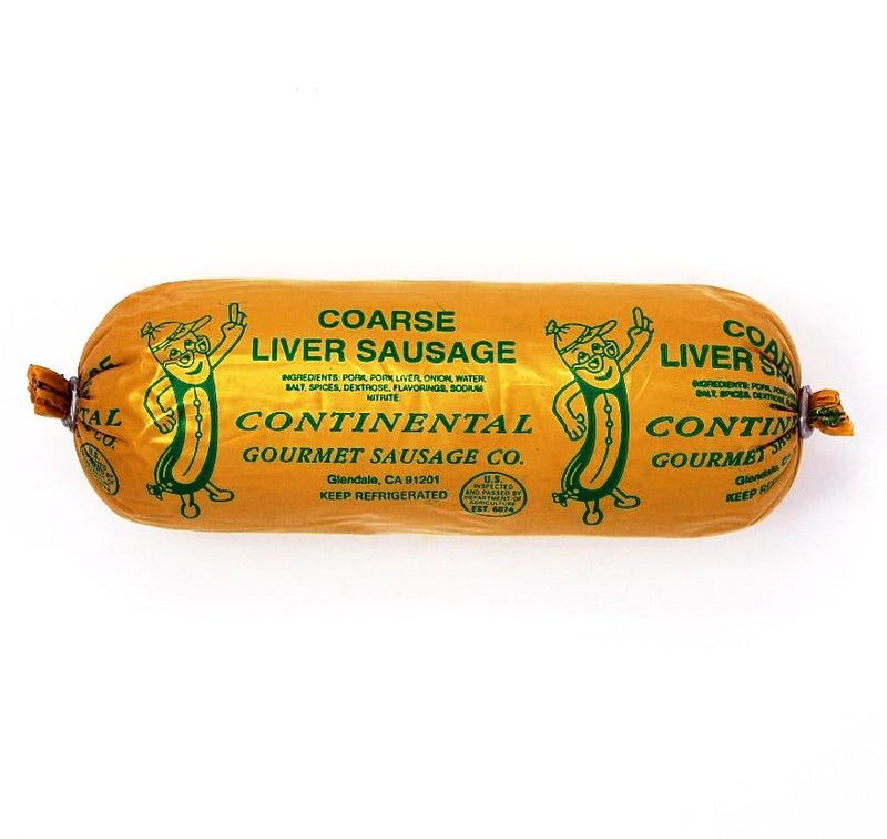 Liver Wurst  Coarse, 8 oz - Cured and Cultivated