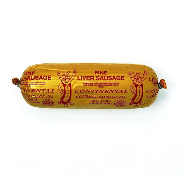 Liver Wurst Fine, 8 oz - Cured and Cultivated