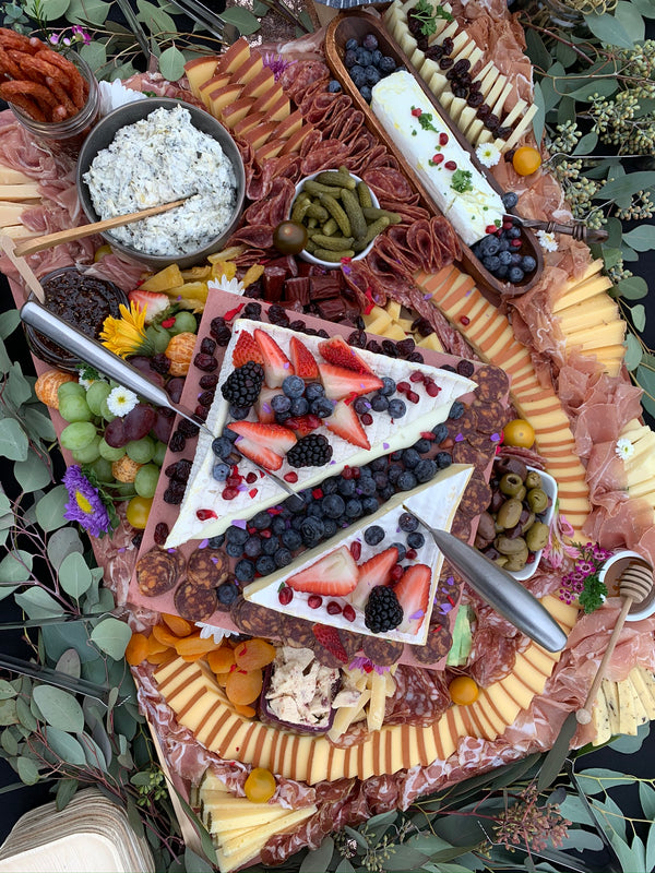 Charcuterie Board - Grazing Table Pismo Beach - Cured and Cultivated