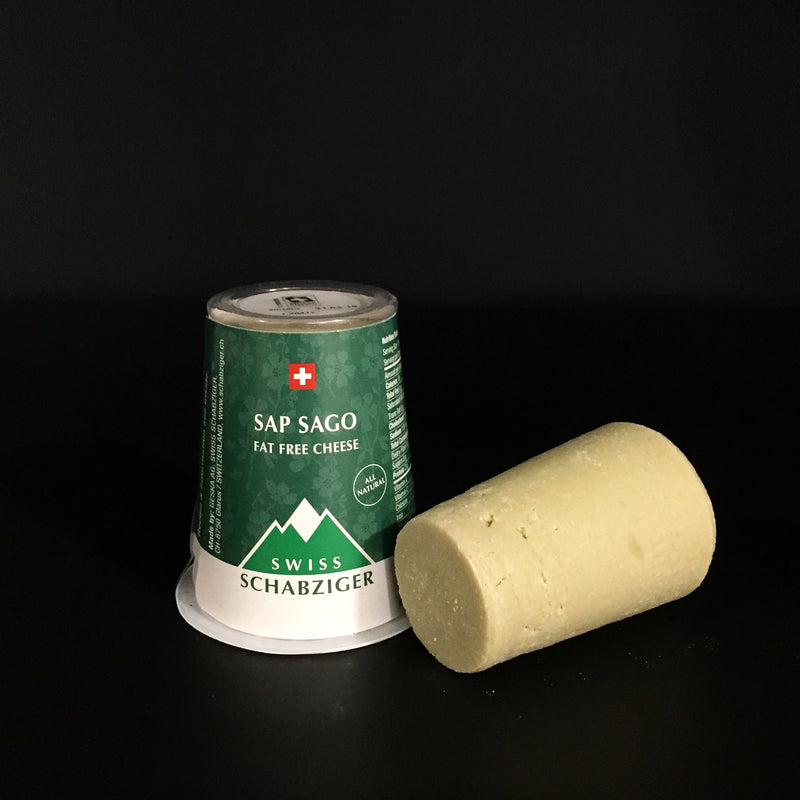 Sap Sago Cheese , 3 oz. cone - Cured and Cultivated