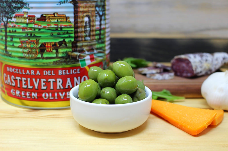 Castelvetrano Olives, 5.5 lb - Cured and Cultivated