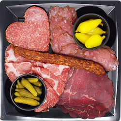 Charcuterie Plate, 7 oz - Cured and Cultivated