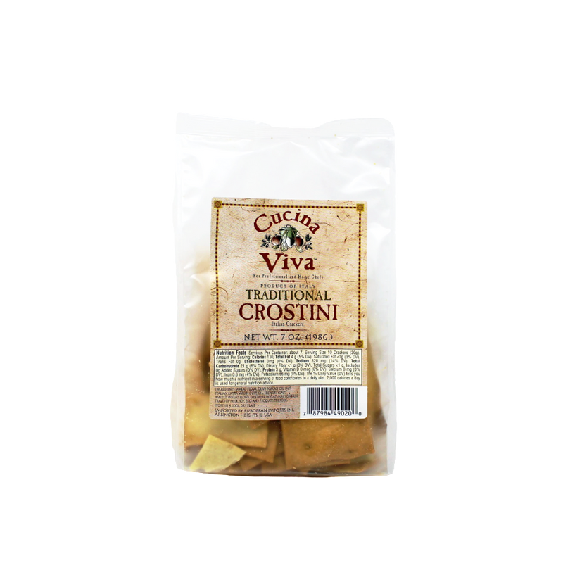 Cucina Viva - Traditional Crostini 7 oz. - Cured and Cultivated
