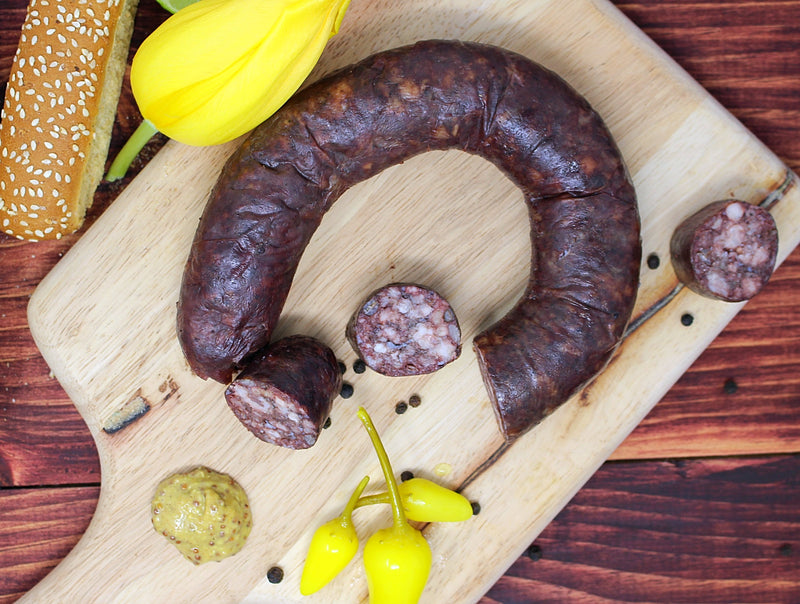 Krovanka - Blood Sausage - Cured and Cultivated
