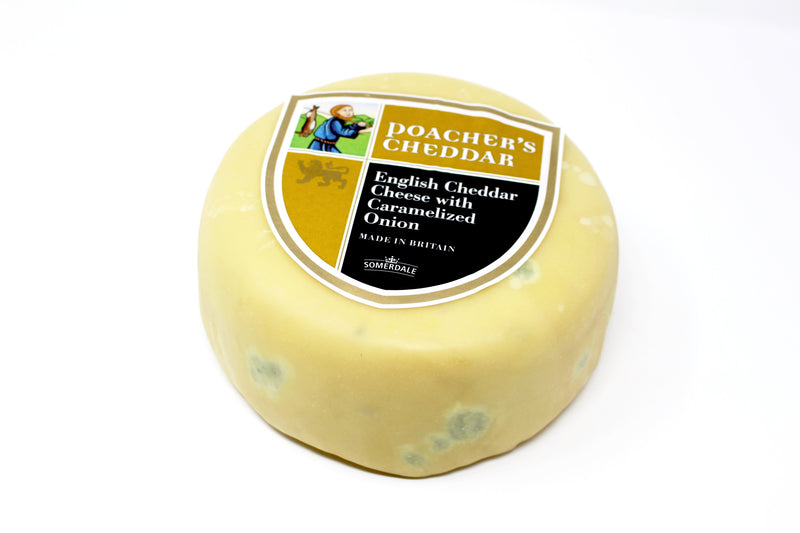 Poacher's Cheddar With Caramelized Onion - Cured and Cultivated