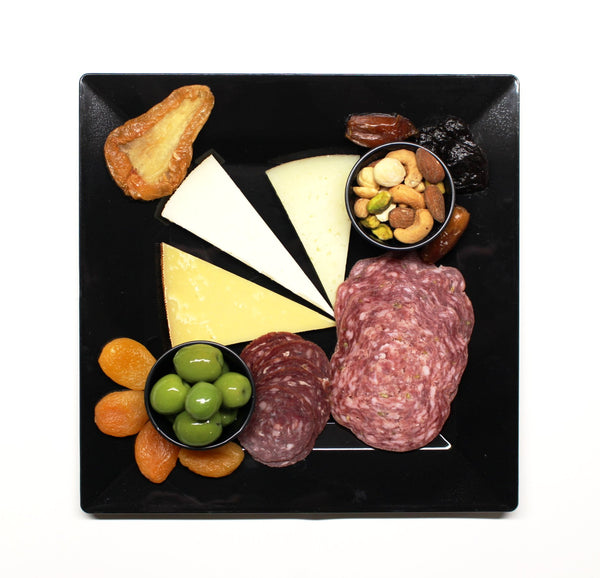 Cheese & Charcuterie Plate, 8 oz - Cured and Cultivated