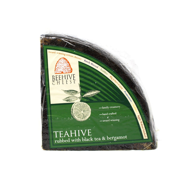 Teahive - Bergamot Rubbed Cheese - Cured and Cultivated