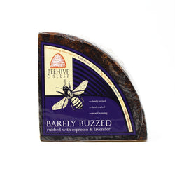 Barely Buzzed - Lavender & Espresso Cheddar - Cured and Cultivated