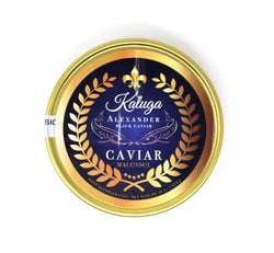 KALUGA - Alexander Black Caviar, 1 lb. - Cured and Cultivated