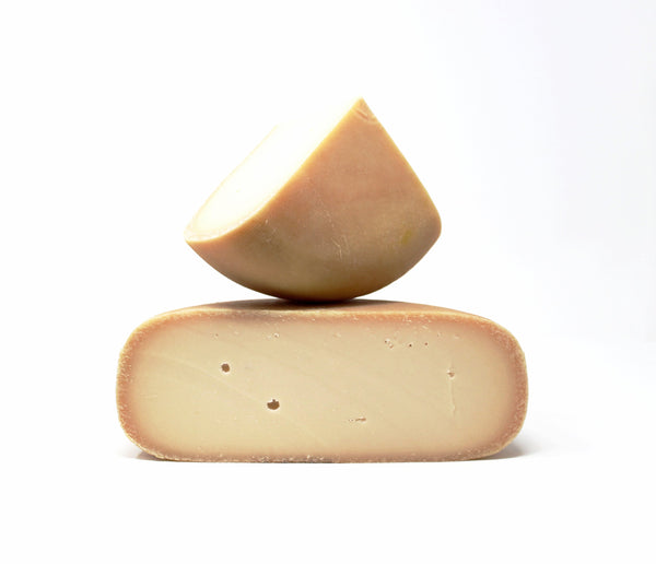 Honey Bee Goat Gouda - Cured and Cultivated