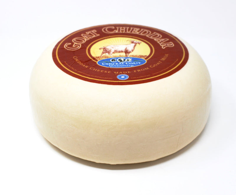 Central Coast Creamery Goat Cheddar - Cured and Cultivated
